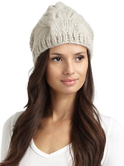BLACK Saks Fifth Avenue - Knit Beanie
