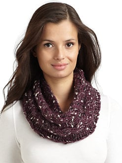 BLACK Saks Fifth Avenue - Knit Neckwarmer