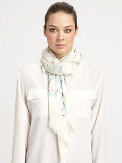 Alexander McQueen - Dragonflies Pashmina Shawl