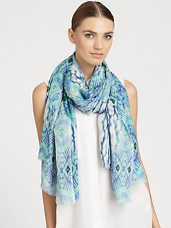 Bindya - Zuni Silk & Cashmere Scarf