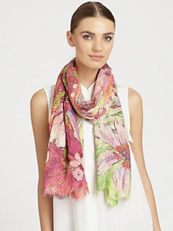 Bindya - Virginia Cashmere & Silk Scarf
