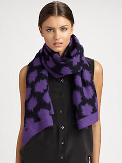 Marc by Marc Jacobs - Wool Spark Scarf