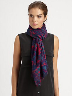Tory Burch - Ascot Wool Scarf