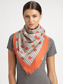 Marc by Marc Jacobs - Willa Dot Wool Scarf