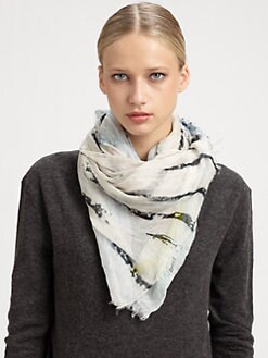 Yigal Azrouel - Umbrella Print Scarf