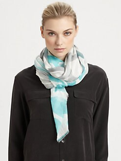 Diane von Furstenberg - Cambell Wool & Silk Scarf