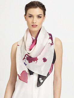 Diane von Furstenberg - Explosion Of Color Silk Scarf
