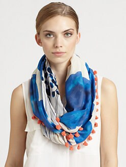 Diane von Furstenberg - Embellished Circle Scarf