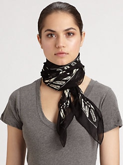 McQ Alexander McQueen - Razor Blade Scarf