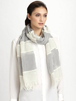 Armani Collezioni - Striped Scarf