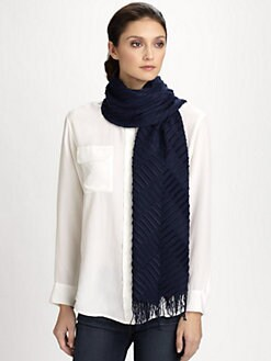 Armani Collezioni - Classic Plisse Scarf