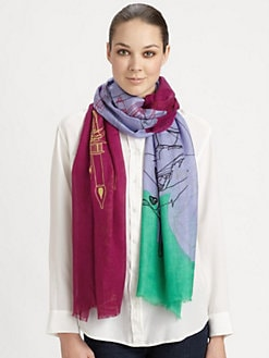 We Are Owls - Cashmere & Silk The Room Scarf