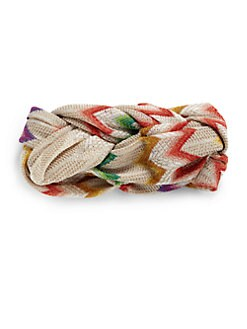 Missoni - Braided Zig-Zag Headband