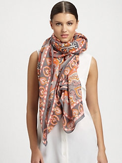 Theodora & Callum - Casablanca Tie-All Woven Scarf