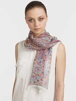 Etro - Silk Calcutta Paisley Scarf