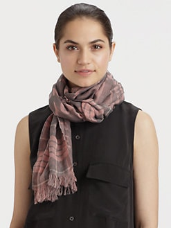 McQ Alexander McQueen - Cotton Jacquard Scarf