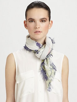 Cut 25 by Yigal Azrouel - Lotus Cashmere & Modal Scarf