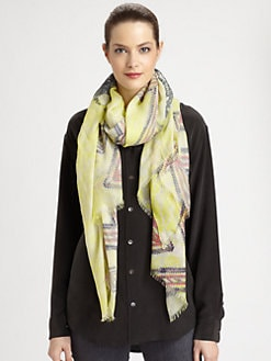 Yigal Azrouel - Camera Printed Scarf