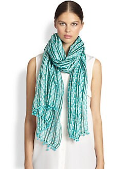 Tory Burch - Painted Links Scarf
