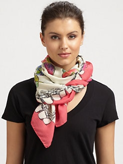 VSP - Silk Split Fruit Scarf