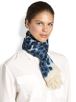 Marc by Marc Jacobs - Jaguar-Print Scarf