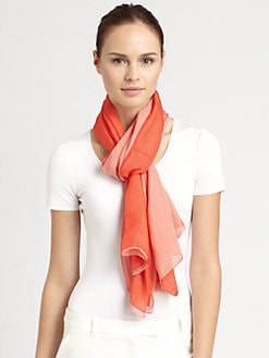 Armani Collezioni - Double Silk Scarf