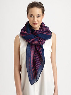Marc by Marc Jacobs - Isabella Dot-Print Scarf