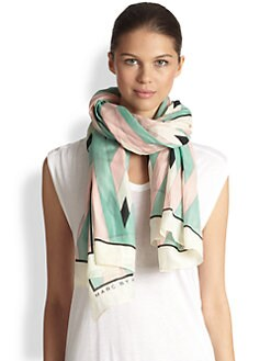 Marc by Marc Jacobs - Diamond Flame Print Scarf