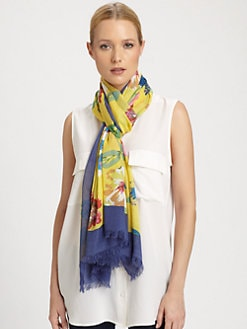 Kate Spade New York - Blossom Printed Scarf