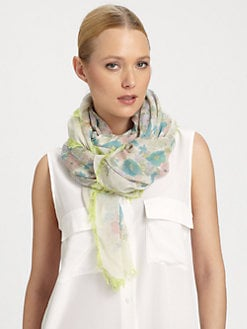 Marc by Marc Jacobs - Drew Floral-Print Scarf