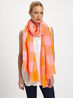 Marc by Marc Jacobs - Stacey Check Scarf