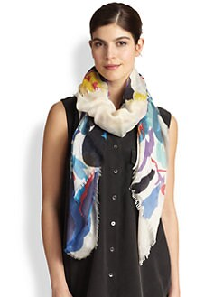 We Are Owls - Cashmere/Silk Crisp Scarf