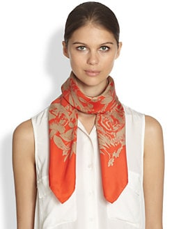 Stella McCartney - Jungle Print Scarf