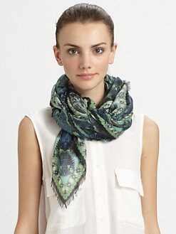 Roberto Cavalli - Ashley Print Scarf