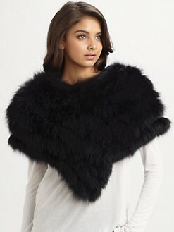 Gucci - Fox Fur Othis Capelet