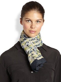 Erdem - Vendome Tweed Scarf