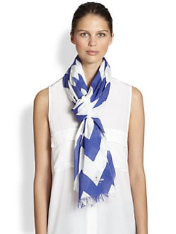 Kate Spade New York - Chevron Stripe Scarf