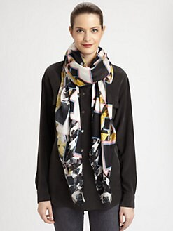 Peter Pilotto - Silk Pattern Scarf
