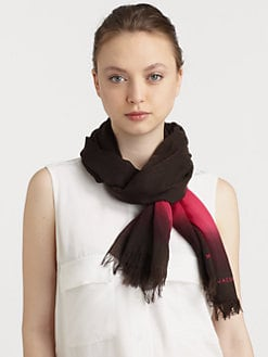 Marc by Marc Jacobs - Wool Lida Stripe Scarf