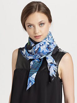 Peter Pilotto - Silk Flower Scarf