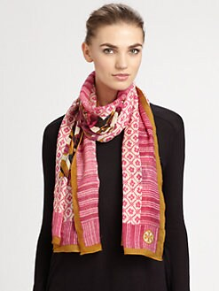 Tory Burch - Elandia Wool/Silk Scarf