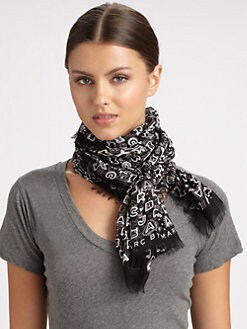 Marc by Marc Jacobs - Dreamy Graffiti Modal Scarf