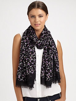 Marc by Marc Jacobs - Exter Print Modal Scarf
