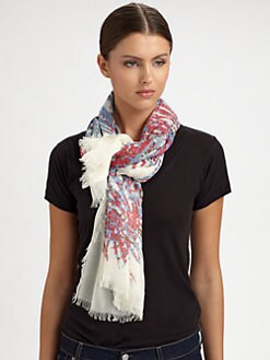 Marc by Marc Jacobs - Island Pine Modal Scarf