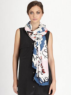 Diane von Furstenberg - Valencia Silk Scarf