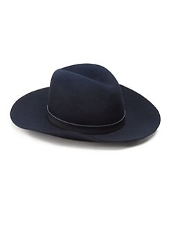 Rag & Bone - Wide Brim Wool Fedora