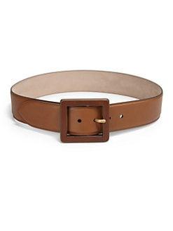 Gucci - Wide Leather Belt