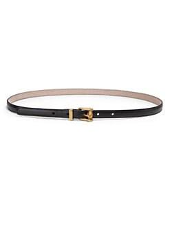 Gucci - Skinny Leather Belt