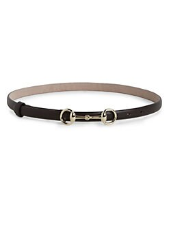 Gucci - Horse Bit Leather Belt