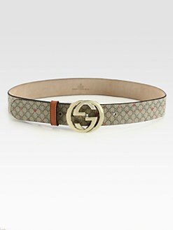 Gucci - Interlocking GG  Buckle Belt